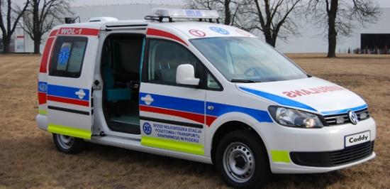 Volkswagen Samochody Użytkowe Zabudowy Ambulans Sanitarny